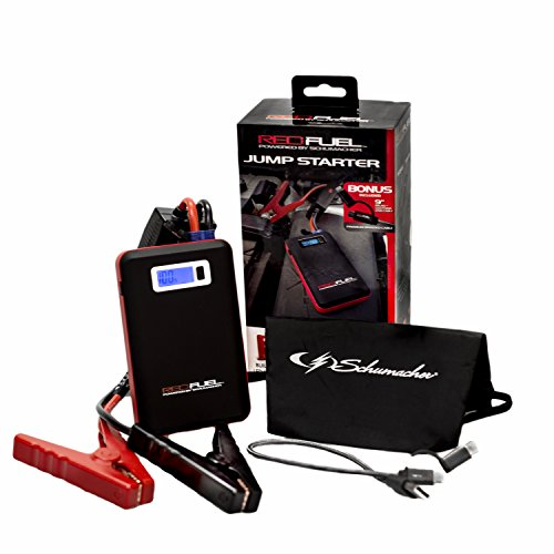 Schumacher SL161 Red Fuel Lithium Ion Jump Starter