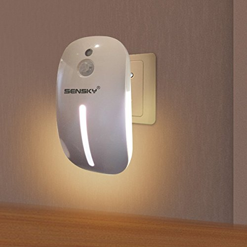 Sensky Skl001 Plug in Motion Sensor Light, Motion Activated