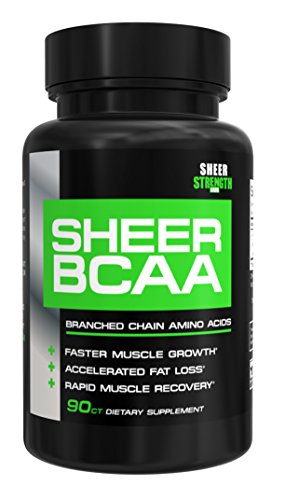 Sheer BCAA Branched Chain Amino Acids Supplement, Muscle Building