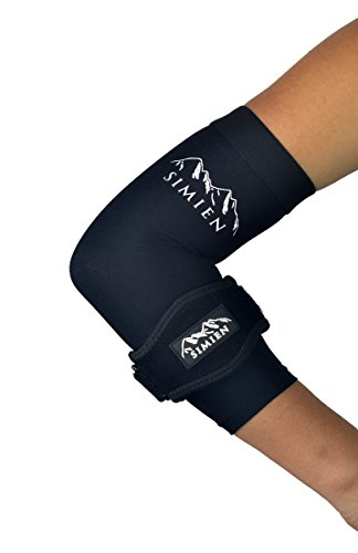 SIMIEN Elbow Brace + Sleeve Compression Combo (1-count each)