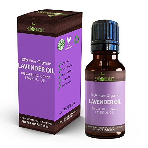 Best Lavender Essential Oil By Sky Organics-100% Organic, Pure