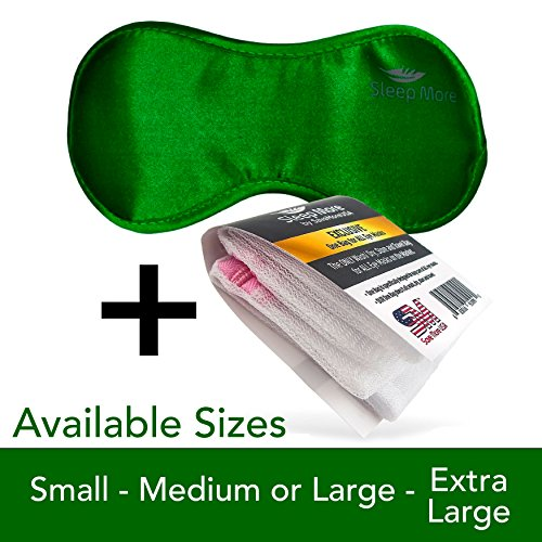 Sleep Mask (SMALL-Med Size) Sleeping Mask for Men or
