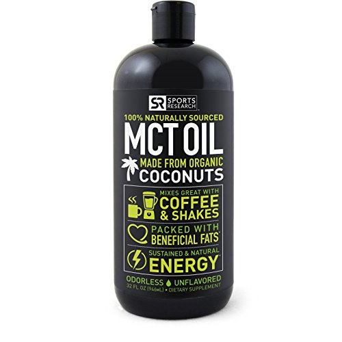 Premium MCT Oil derived only from Organic Coconuts –