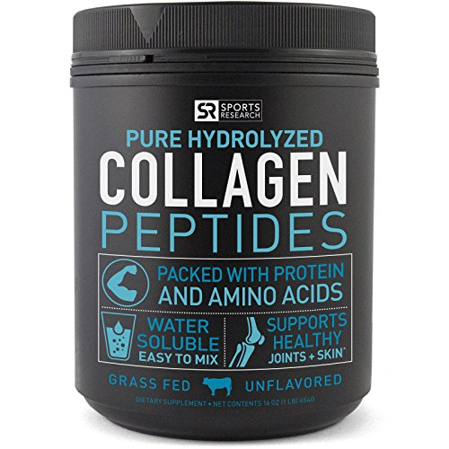 Premium Collagen Peptides (16oz) – Grass-Fed, Certified Paleo Friendly