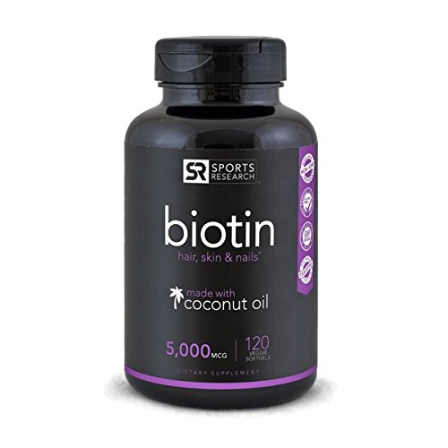 Biotin (High Potency) 5000mcg Per Veggie Softgel; Enhanced with