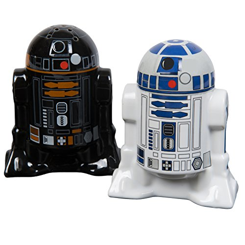 Star Wars Salt and Pepper Shakers - R2D2 and