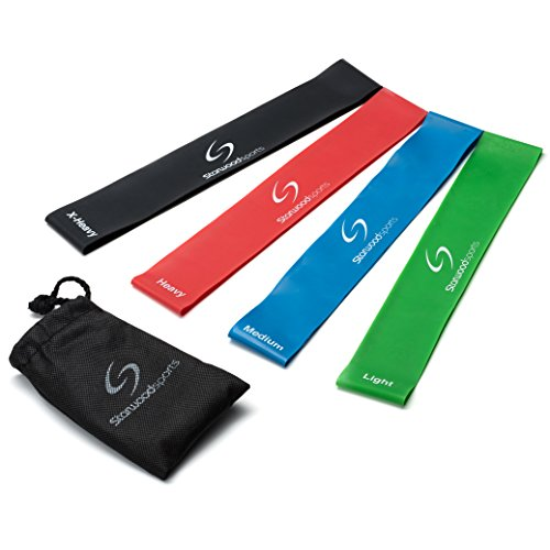 Starwood Sports Exercise Resistance Loop Bands - Set of
