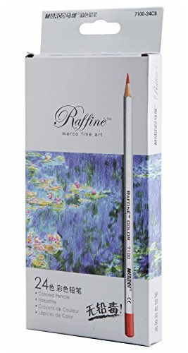 SUNYOU Premier Soft Core Art Colored Drawing Pencils for