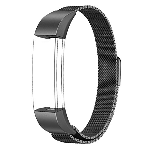 Fitbit Alta HR and Alta Bands Metal, Swees Milanese