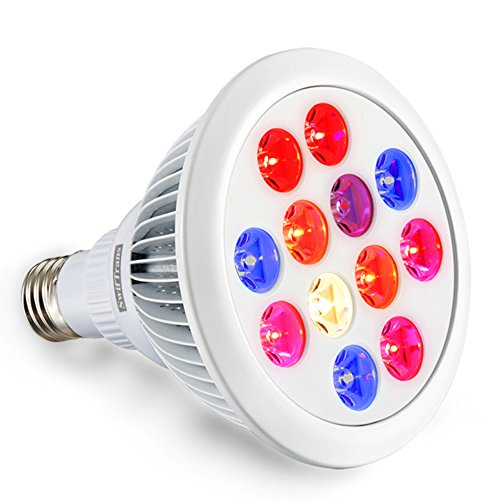 Swiftrans LED Grow Light Bulb, 24w Plant Grow Light