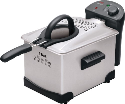 $41.72 T-fal FR1014 Easy Pro Enamel Deep Fryer 3-Liters of