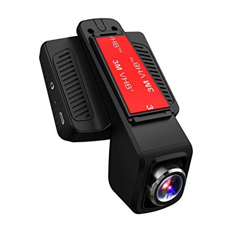 TOGUARD Car Dash Cam WiFi 170 Degree Wide Angle