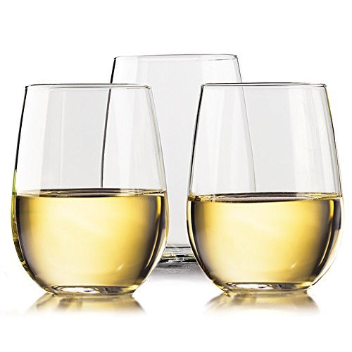 Unbreakable Wine glasses by TaZa - 100% Tritan Dishwasher-safe