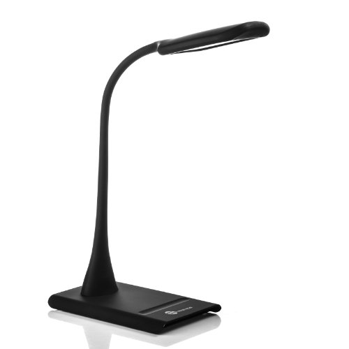 $27.99 TaoTronics Dimmable Eye-Care LED Desk Lamp (9W, Flexible Neck,
