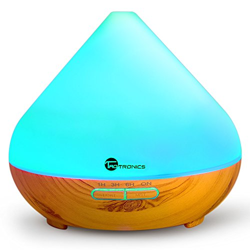 Essential Oil Diffuser, TaoTronics 300ml Wood Grain Aroma Diffuser