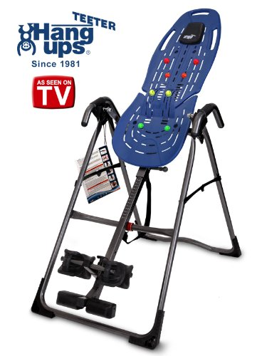 Teeter EP-560 LTD Inversion Table for back pain relief
