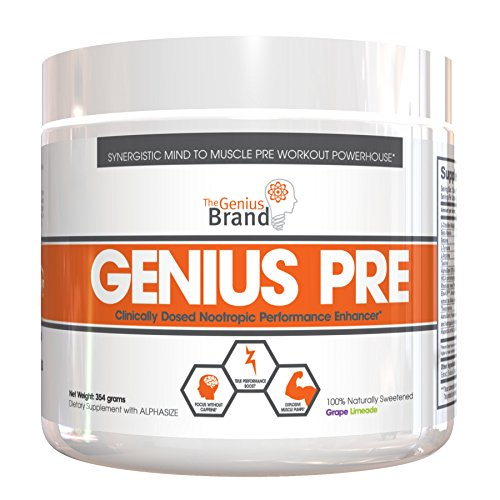 GENIUS Pre Workout - Nootropic Based Pre Workout