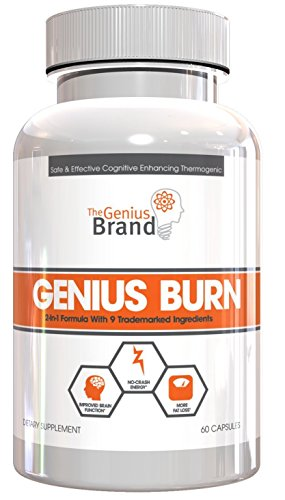 Genius Burn - 2-In-1 Focus Enhancing Thermogenic Fat Burner