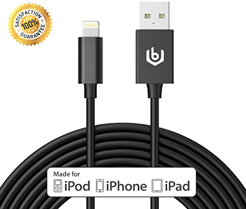 [Apple MFI Certified] 10ft Lightning Cable, iPhone Charger, Most