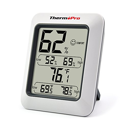 ThermoPro TP50 Hygrometer Thermometer Indoor Humidity Monitor with Temperature