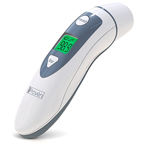 Medical Forehead and Ear Thermometer - the Authentic FDA