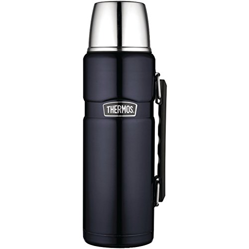 $24.99 Thermos Stainless King 40 Ounce Beverage Bottle, Midnight Blue