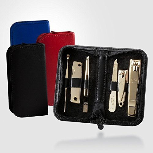 Three Seven 777 Travel Manicure Pedicure Grooming Kit Set