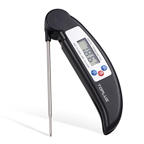 Toplus Instant Read Cooking Thermometer Digital Meat Thermometer with