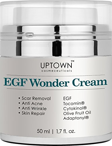 Uptown Cosmeceuticals Anti Wrinkle and Acne Scar Removal EGF