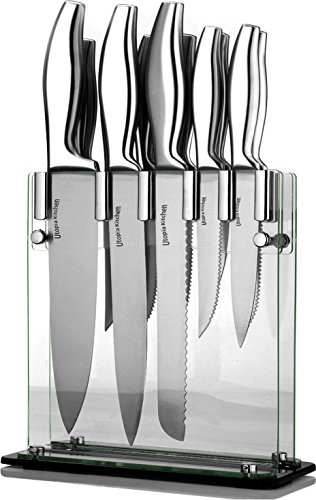 Utopia Kitchen Premium Class Stainless-Steel 12 Knife Set with