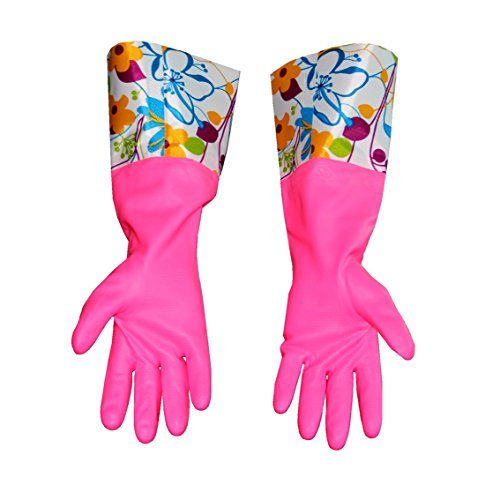 Cute Cleaning Gloves Kitchen Gloves VANORIG Thickening Waterproof Dish