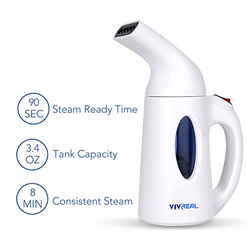 Clothes Steamer - Handheld Garment Steamer with 3.4Oz Capacity