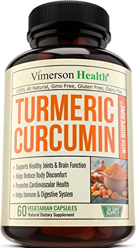 Turmeric Curcumin with Bioperine Anti-Inflammatory, Antioxidant  Anti-Aging Supplement