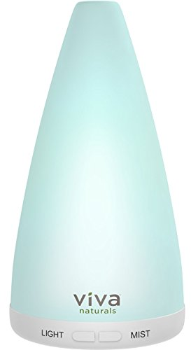 Viva Naturals Aromatherapy Essential Oil Diffuser – Vibrant Changeable
