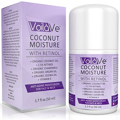 Coconut Moisture with Retinol Organic Coconut Oil Face Moisturizer
