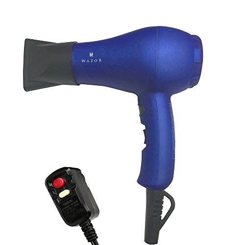 Wazor Hair Dryer Ionic Ceramic Blow Dryer Mini Size