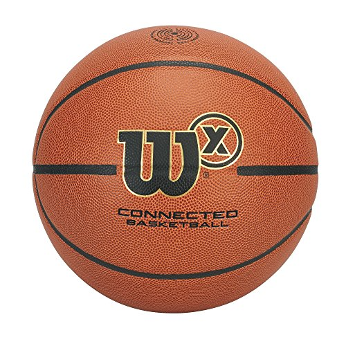 Wilson X Connected Smart Basketball with Sensor that Tracks