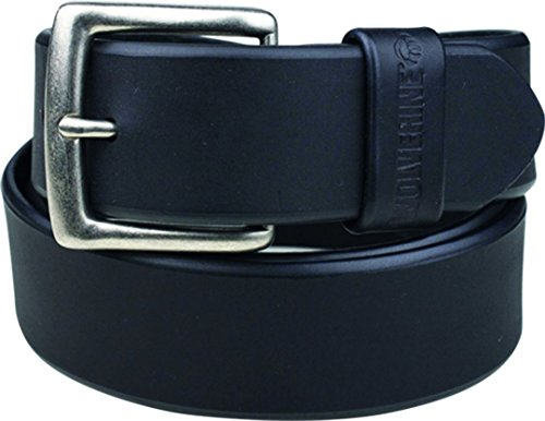 Wolverine Men's Leather Belt , Black , 34