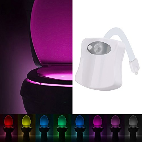 YIER Toilet Night Light With Motion Activated Sensor