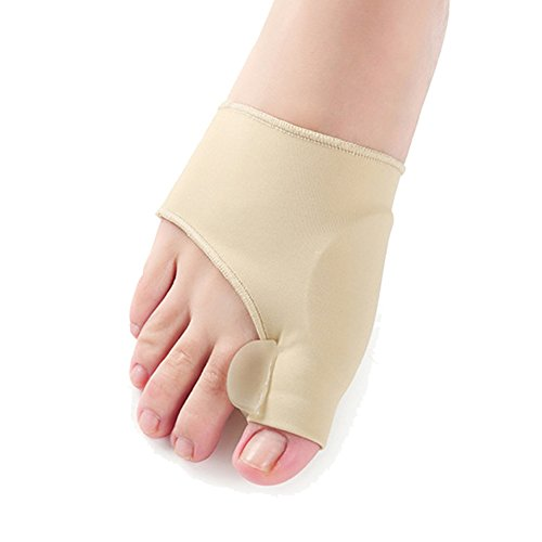 Gel Pad Bunion Protector Sleeves Corrector Pad with Gel
