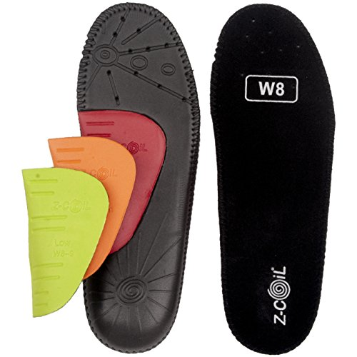 Z-CoiL Men's Z-Fit Black Custom Arch Insole M 12
