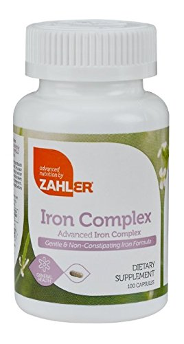 Zahlers Iron Complex, 1 Top Quality All Natural Iron