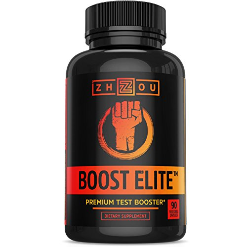 BOOST ELITE Test Booster Formulated to Increase T-Levels, Vitality