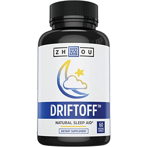 DRIFTOFF Natural Sleep Aid with Valerian Root  Melatonin