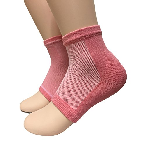 acebone Beauty Spa Moisturizing Gel Heel Socks Pedicure Socks