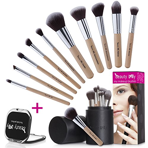 beauty Lally 10 Pcs makeup brush set-soft, silky professional