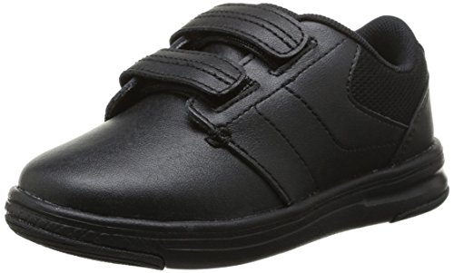 $42.99 crocs Uniform Shoe P Flat (Toddler/Little Kid), Black/Black, 9