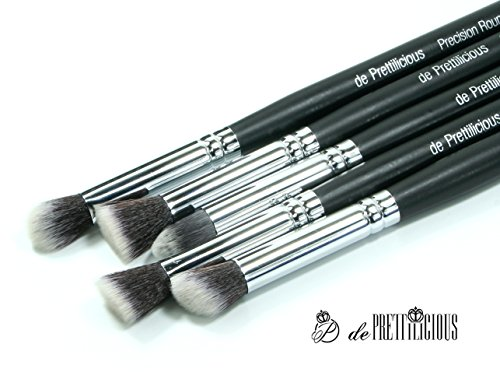 PRECISION MAKEUP BRUSH 5PCS SET. ON SALES! Free Deluxe