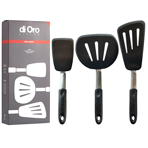 Chef Series FLEX Turner Spatulas (3 Piece Set) 600F