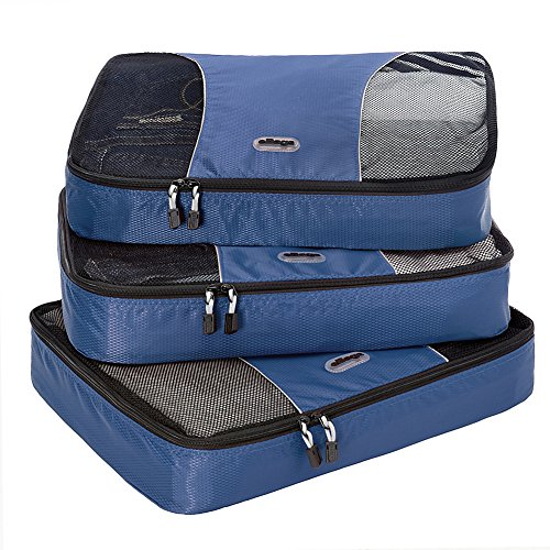 $29.99 eBags Large Packing Cubes - 3pc Set (Denim)